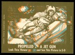 1963 Topps Astronauts 3D #24   -  Gus Grissom Grissom in pressure suit Back Thumbnail