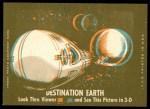 1963 Topps Astronauts 3D #48   -  John Glenn / Gus Grissom / Alan Shepard Our 1st Spacemen Back Thumbnail