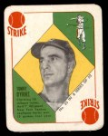 1951 Topps Blue Back #35  Tommy Byrne  Front Thumbnail