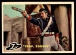 1958 Topps Zorro #39   Stop Zorro Front Thumbnail