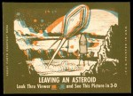 1963 Topps Astronauts 3D #29   Grissom Blasts Off Back Thumbnail