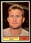 1961 Topps #201  Pete Whisenant  Front Thumbnail