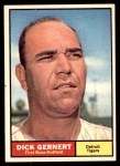1961 Topps #284  Dick Gernert  Front Thumbnail