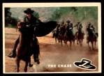 1958 Topps Zorro #75   The Chase Front Thumbnail