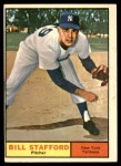 1961 Topps #213  Bill Stafford  Front Thumbnail