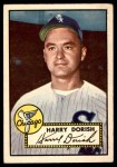 1952 Topps #303  Harry Dorish  Front Thumbnail