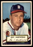 1952 Topps #264  Roy Hartsfield  Front Thumbnail