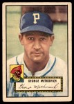 1952 Topps #310  George Metkovich  Front Thumbnail