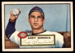 1952 Topps #297  Andy Seminick  Front Thumbnail