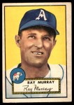 1952 Topps #299  Ray Murray  Front Thumbnail
