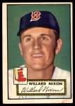 1952 Topps #269  Willard Nixon  Front Thumbnail