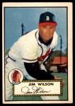 1952 Topps #276  Jimmy Wilson  Front Thumbnail