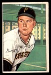 1952 Bowman #243  Red Munger  Front Thumbnail