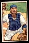 1952 Bowman #225  Del Wilber  Front Thumbnail