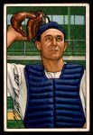 1952 Bowman #216  Matt Batts  Front Thumbnail