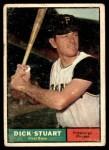 1961 Topps #126  Dick Stuart  Front Thumbnail