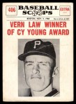 1961 Nu-Card Scoops #406   -   Vern Law  Vern Law Winner of Cy Young Award Front Thumbnail