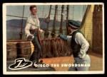 1958 Topps Zorro #2   Diego The Swordsman Front Thumbnail