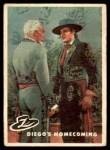 1958 Topps Zorro #9   Diegos Homecoming Front Thumbnail