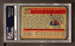 1957 Topps #328  Brooks Robinson  Back Thumbnail