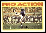 1972 Topps #258   -  Bob Lee Pro Action Front Thumbnail