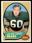 1970 Topps #236  Lee Roy Caffey  Front Thumbnail