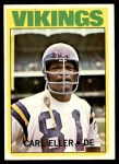 1972 Topps #20  Carl Eller  Front Thumbnail