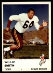 1961 Fleer #149  Willie Smith  Front Thumbnail