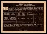 1967 Topps #68  Bobby Rousseau  Back Thumbnail