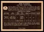 1967 Topps #39  John McKenzie  Back Thumbnail