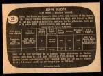 1966 Topps #39  Johnny Bucyk  Back Thumbnail