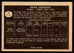 1967 Topps #17  Brian Conacher  Back Thumbnail