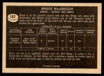 1967 Topps #102  Bruce MacGregor  Back Thumbnail
