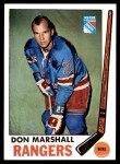 1969 Topps #39  Don Marshall  Front Thumbnail