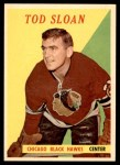 1958 Topps #42  Tod Sloan  Front Thumbnail