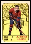 1967 Topps #2  Dick Duff  Front Thumbnail