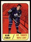 1967 Topps #13  Allan Stanley  Front Thumbnail