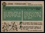 1958 Topps #55  Lorne Ferguson  Back Thumbnail