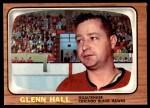 1966 Topps #54  Glenn Hall  Front Thumbnail