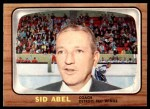 1966 Topps #42  Sid Abel  Front Thumbnail
