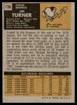 1971 Topps #136  Jim Turner  Back Thumbnail