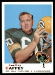1969 Topps #146  Lee Roy Caffey  Front Thumbnail