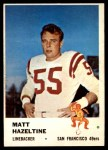 1961 Fleer #66  Matt Hazeltine  Front Thumbnail