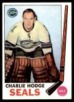 1969 Topps #77  Charlie Hodge  Front Thumbnail