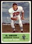 1962 Fleer #50  Al Jamison  Front Thumbnail