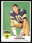 1969 Topps #257  Charlie Durkee  Front Thumbnail
