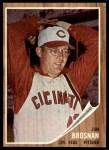 1962 Topps #2  Jim Brosnan  Front Thumbnail