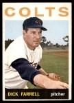 1964 Topps #560  Dick Farrell  Front Thumbnail