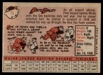 1958 Topps #73  Pete Daley  Back Thumbnail