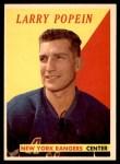 1958 Topps #28  Larry Popein  Front Thumbnail